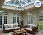 360 degree views of conservatories